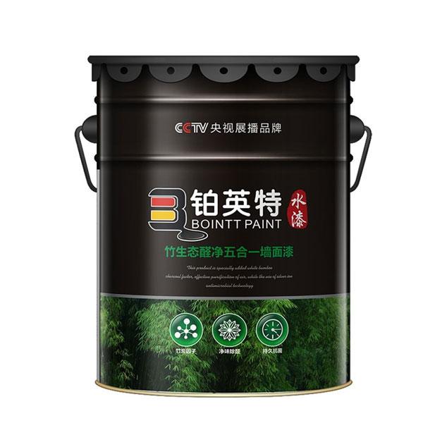 竹生态醛净五合一墙面漆