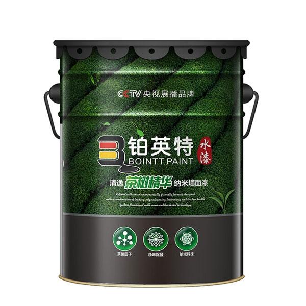 清逸茶树精华纳米墙面漆