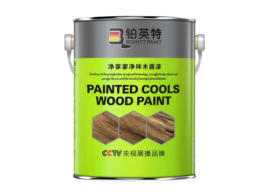 铂英特净享家净味木器漆-4升圆