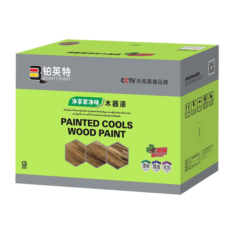 净享家木器漆纸箱9KG