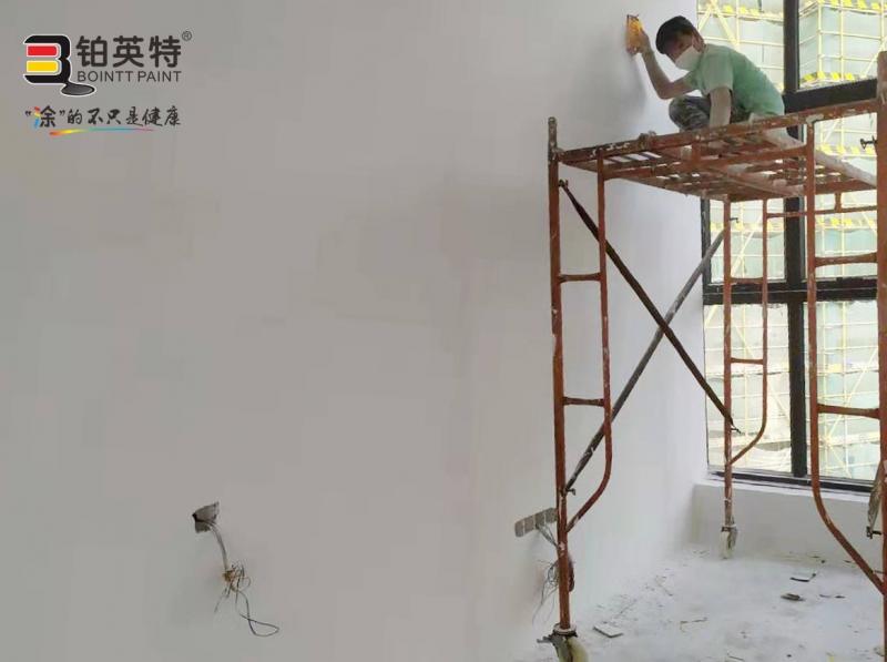 广东顺德顾和家具公司无机涂料工程