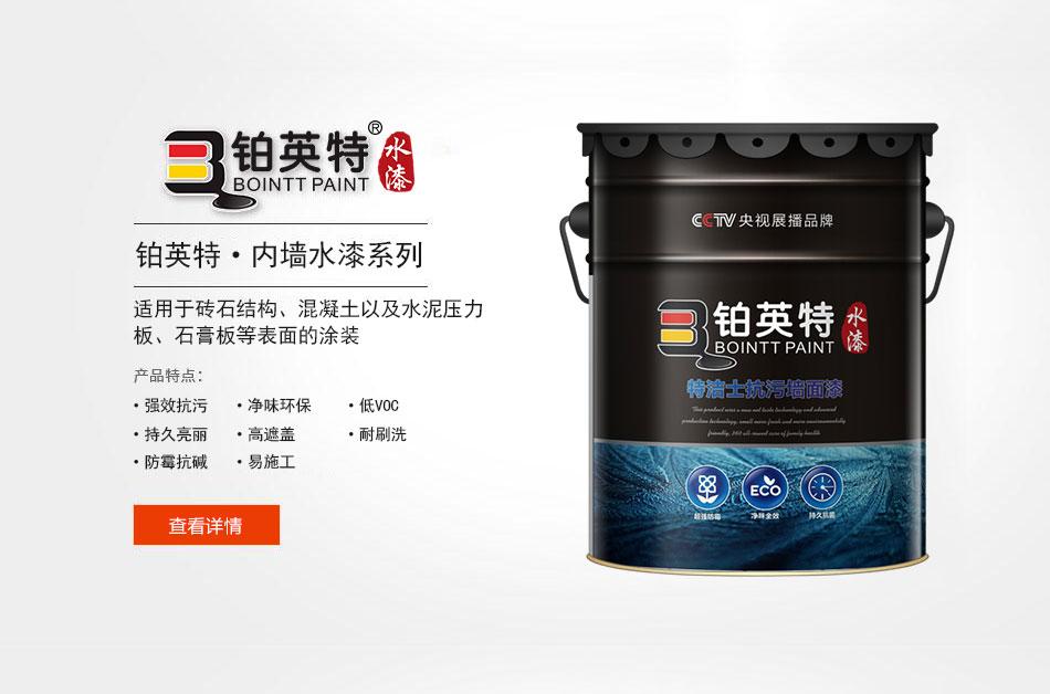 中国内墙涂料