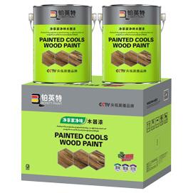 铂英特水性净味家具木器漆套装