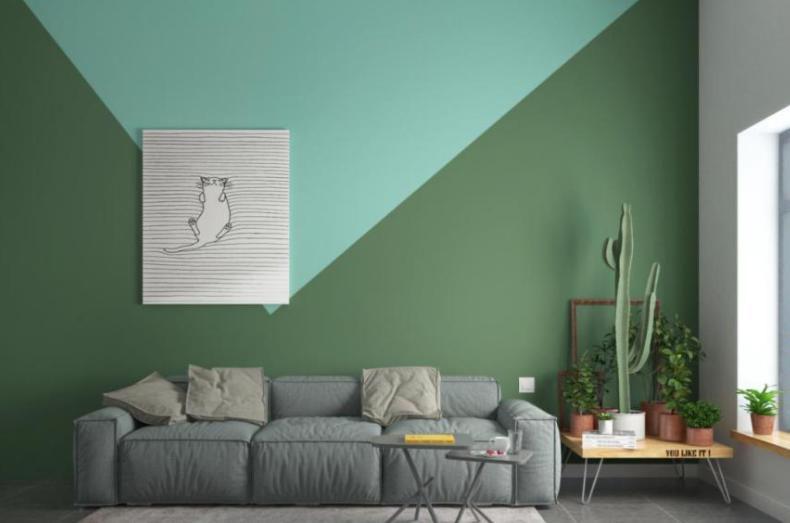 原墙为乳胶漆,使用无机矿物涂料该如何翻新?