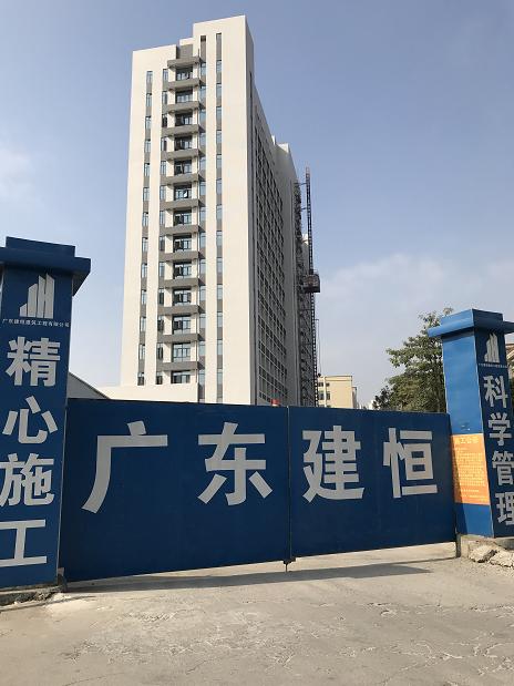 阳江市阳东区人民医院医用涂装工程现场施工效果图