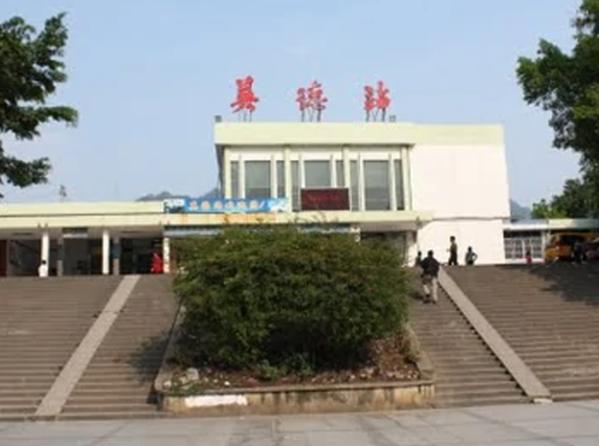清远市英德火车站无机涂料工程