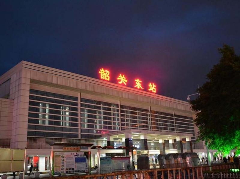 韶关市东站火车站无机涂装工程