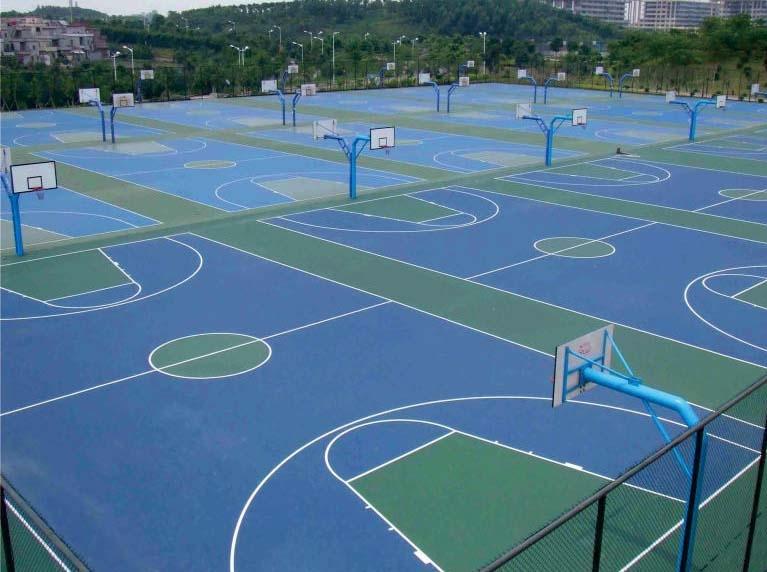 杭州育新体校户外球场工程