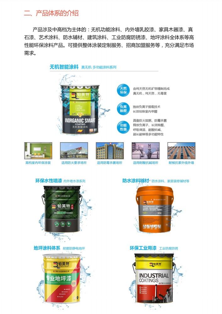 铂英特无机涂料产品体系介绍