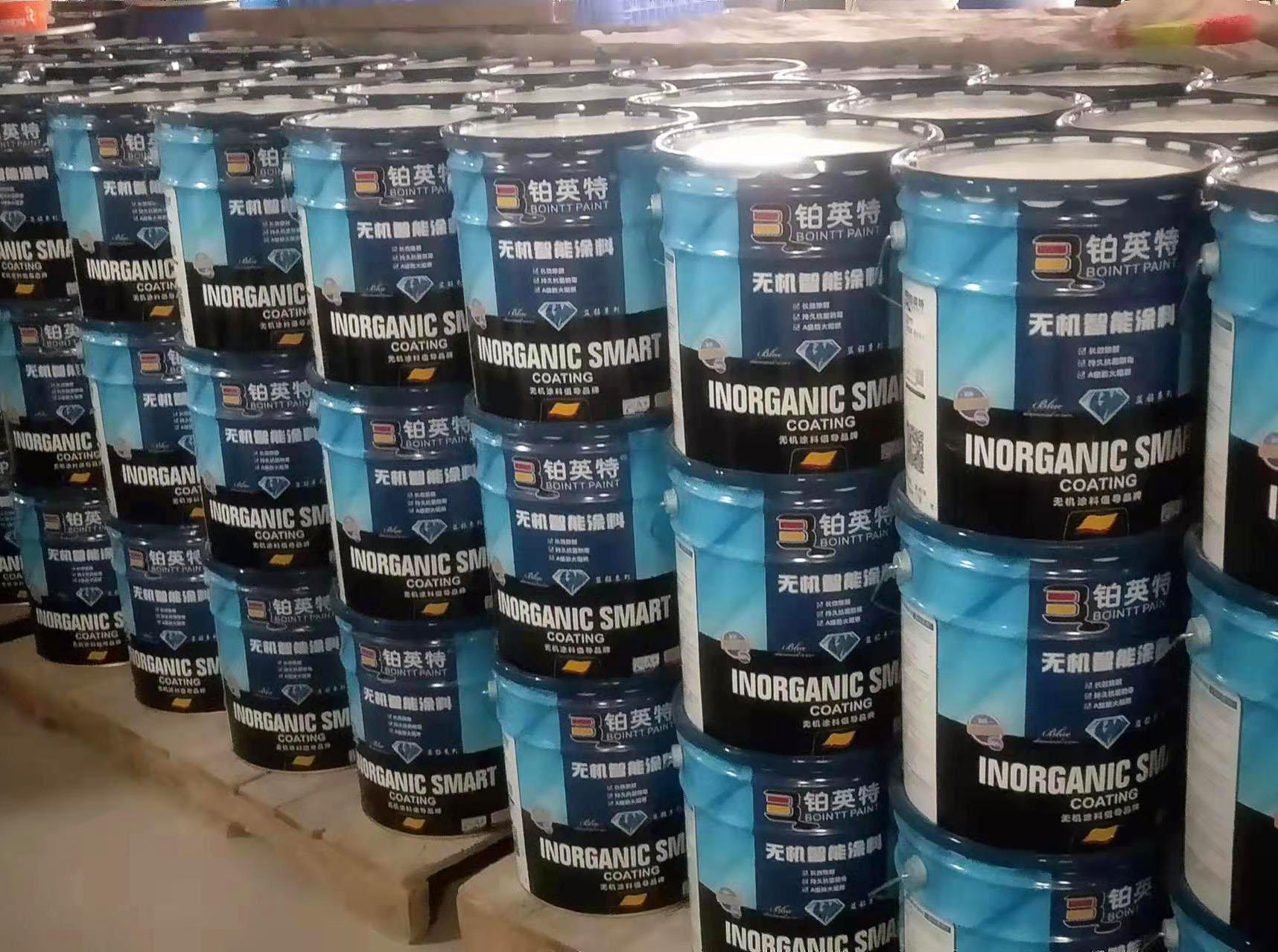 2021年9月份彩钢瓦水性防锈漆,防水涂料,无机涂料等687吨